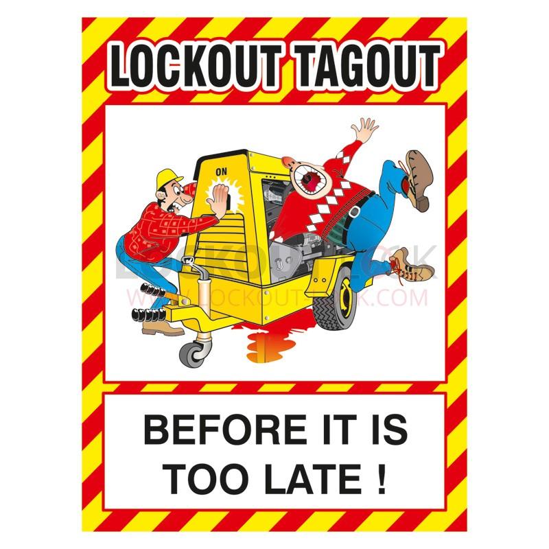 Lockout Tagout Clipart.