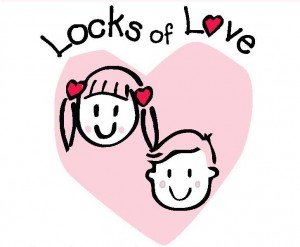 Locks Of Love Clipart.