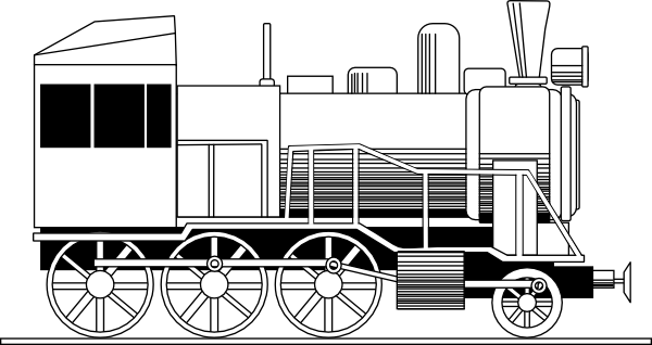 Locomotive Clip Art.