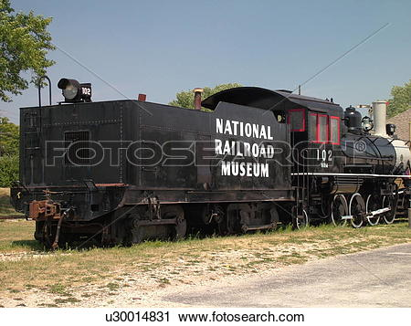 Stock Photography of Green Bay, WI, Wisconsin, National Railroad.