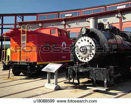 Stock Photograph of Scranton, PA, Pennsylvania, Steamtown National.