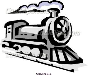 Locomotive Vector Clip art.