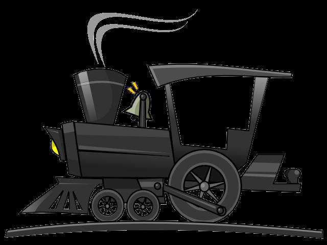 Clipart Locomotive Gratuit.