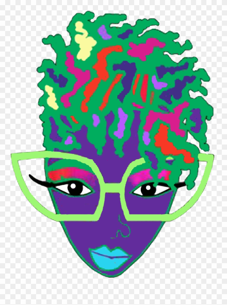 Afro Natural Hair Locs Colorful Tagged \