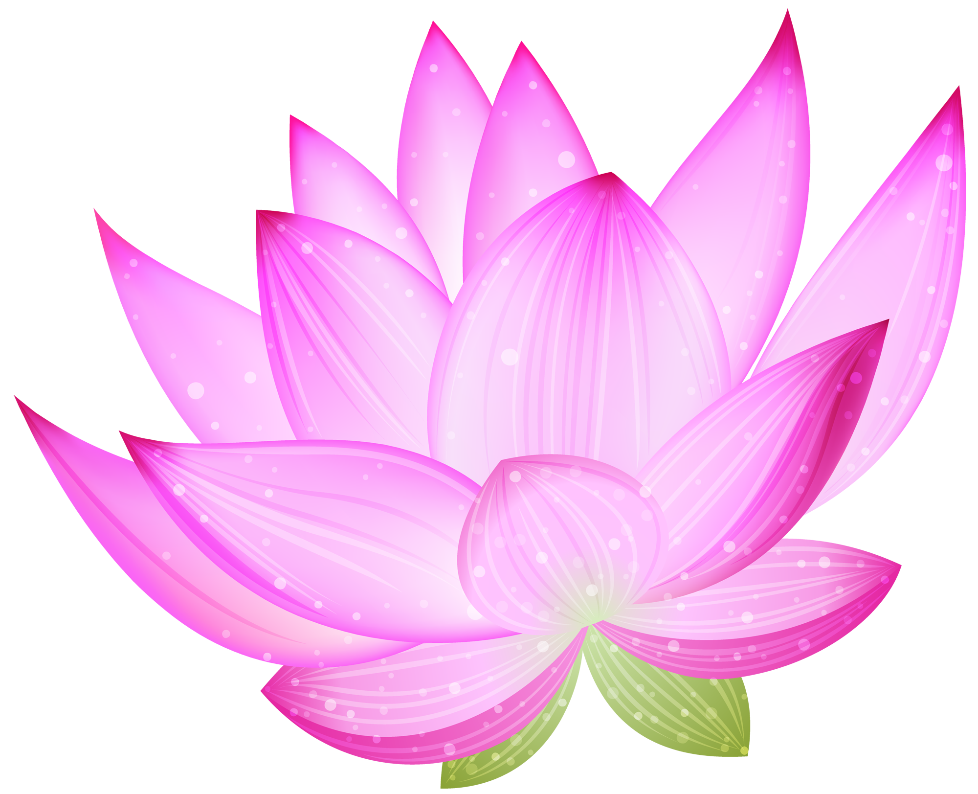 Lotus flower clip art.
