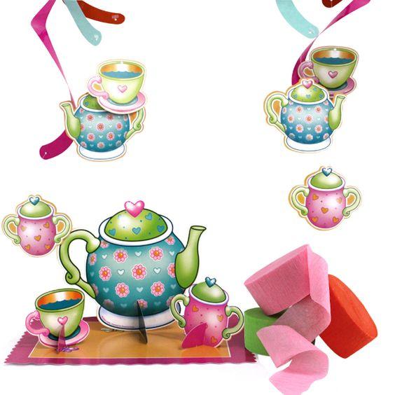 Ladies Tea Party Clip Art.