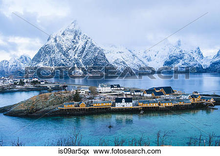 "Picture of ""The fishing village of Reine, Lofoten, Norway."