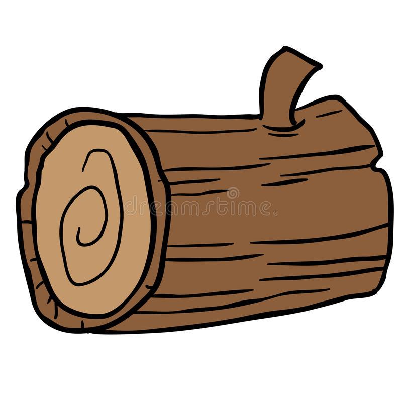 Log Cartoon Stock Illustrations.