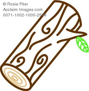 Log Clip Art.