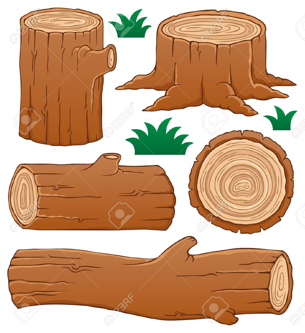 Timber Logs Clip Art ~ Log clipart clipground
