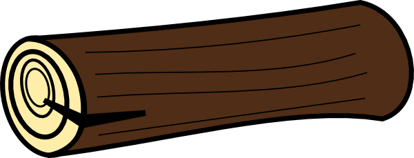 Log Clipart.