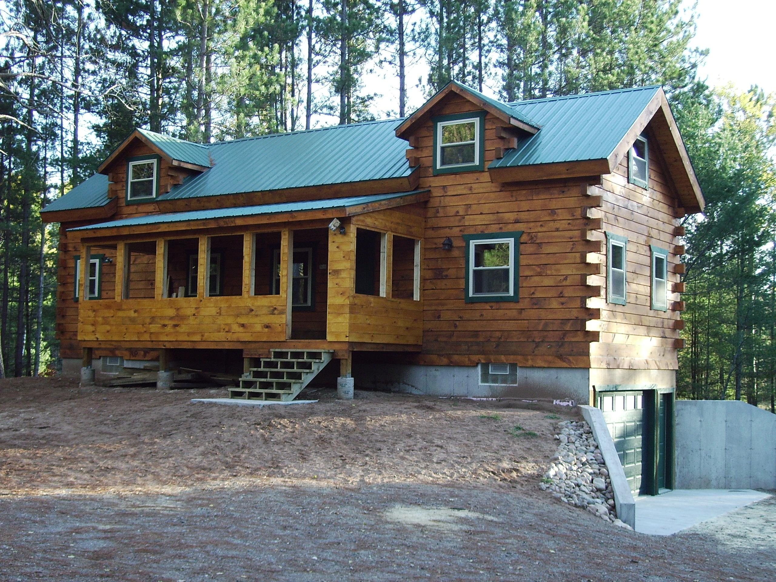 Star Log Cabins Wisconsin.