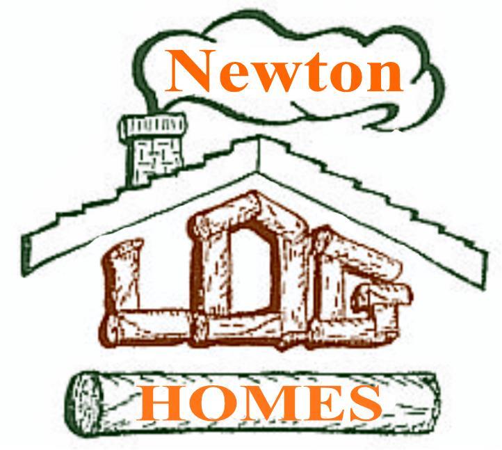 Newton Log Homes Home.