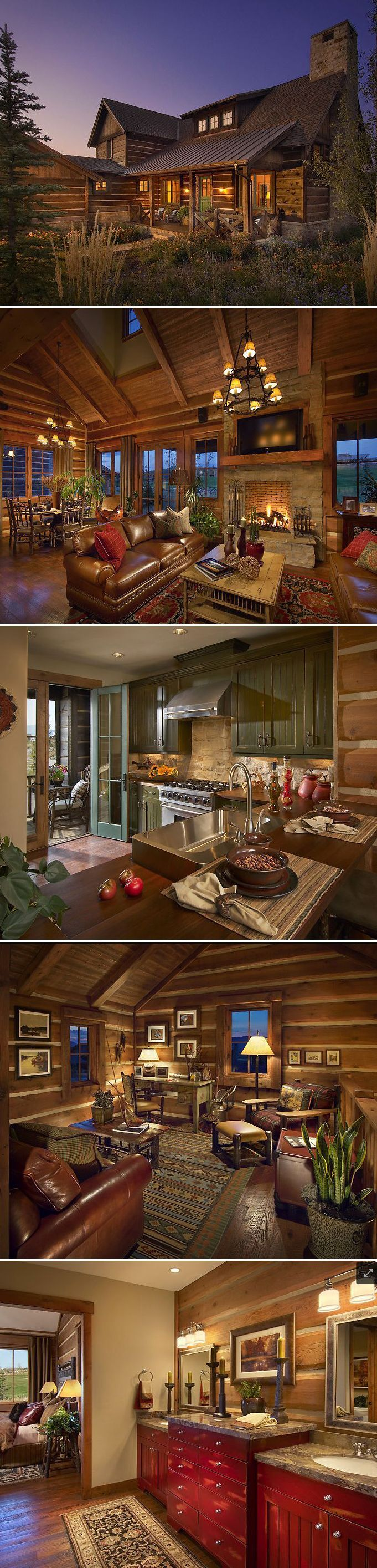 1000+ ideas about Log Home Interiors on Pinterest.