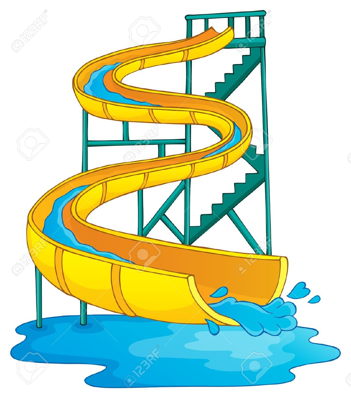 Water Ride Clipart.