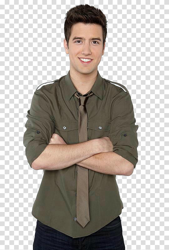 Logan Henderson transparent background PNG clipart.