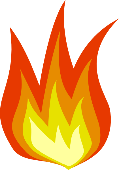 November fire clipart #5