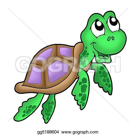 Sea Turtle Stock Illustrations.
