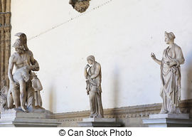 Pictures of Florence,loggia dei Lanzi.