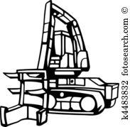 Logging Clipart Vector Graphics. 946 logging EPS clip art vector.