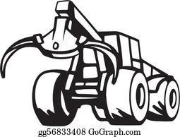 Logging Clip Art.