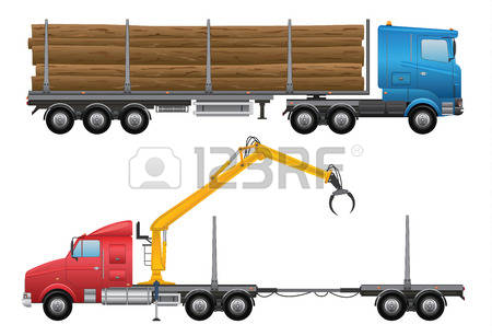 133 Trailer Log Truck Stock Illustrations, Cliparts And Royalty.