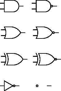 Digital Logic Gates Clip Art at Clker.com.