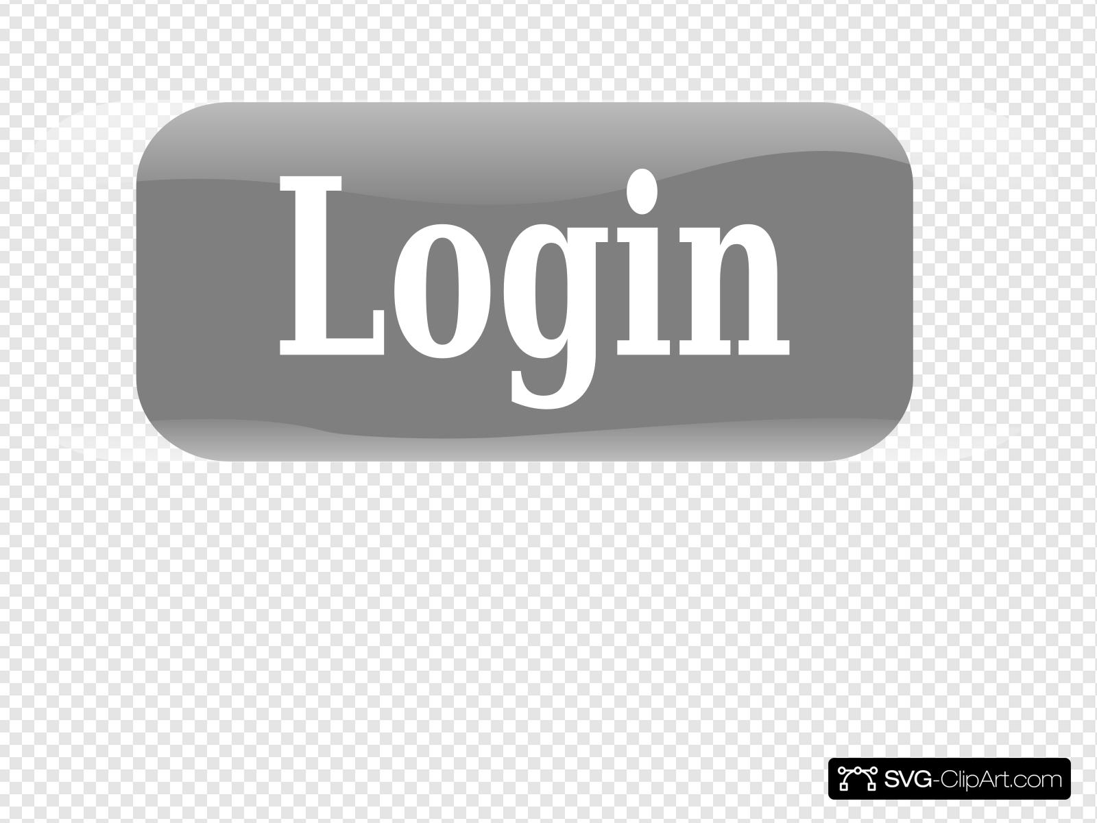 New Login Button Clip art, Icon and SVG.