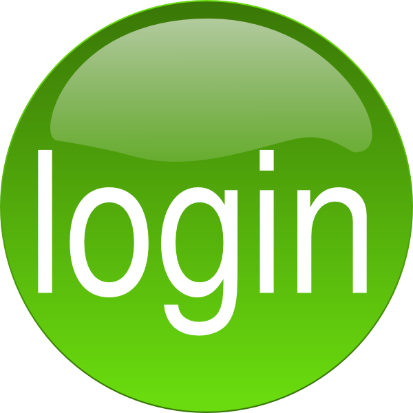 Green Login Clip Art at Clker.com.