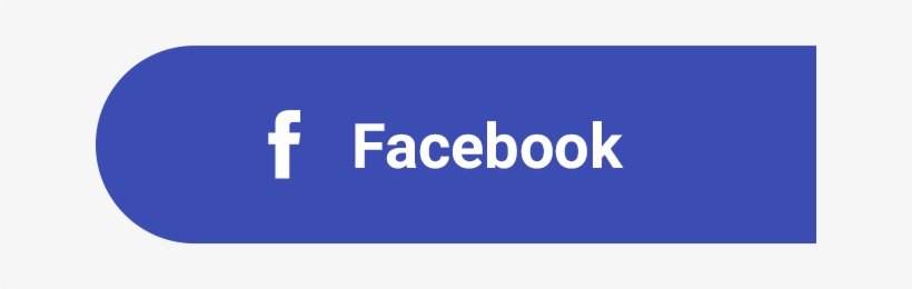 Login With Facebook Button Png Clip Black And White.