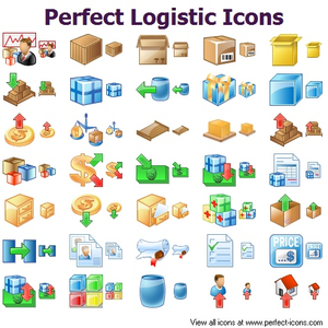 Perfect Logistic Icons.