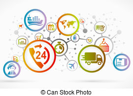 Logistic Illustrations and Stock Art. 34,161 Logistic illustration.