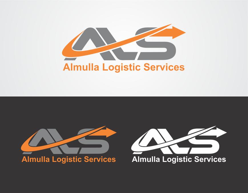 Almulla Logistic logo.