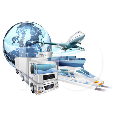 World logistics clipart.