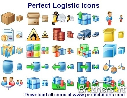 Download Free Perfect Logistic Icons, Perfect Logistic Icons.