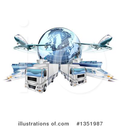 Logistics Clipart #1351987.
