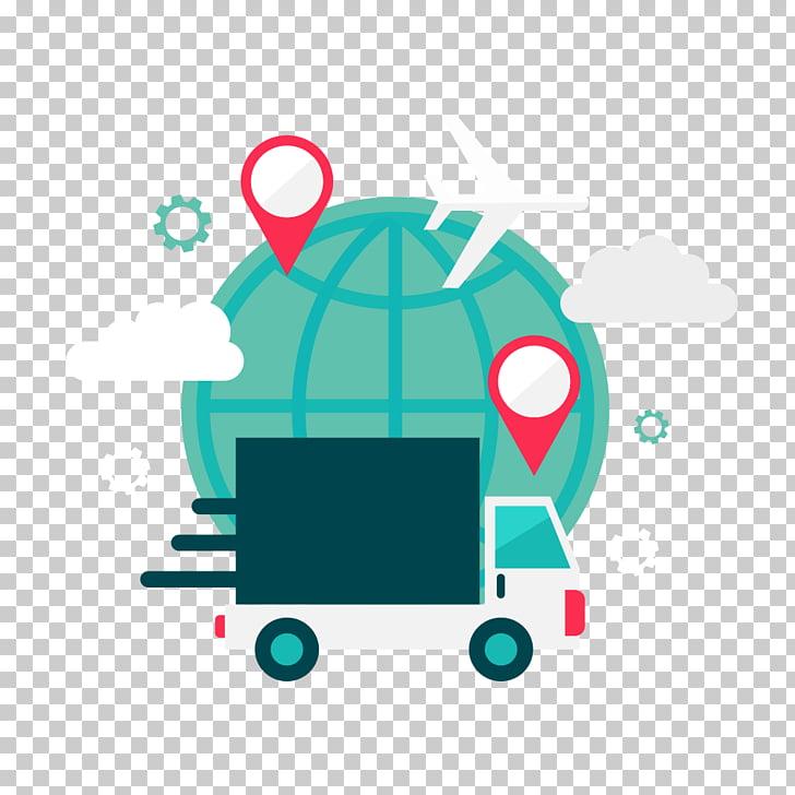 Logistics , Global express transportation Partial flattening.