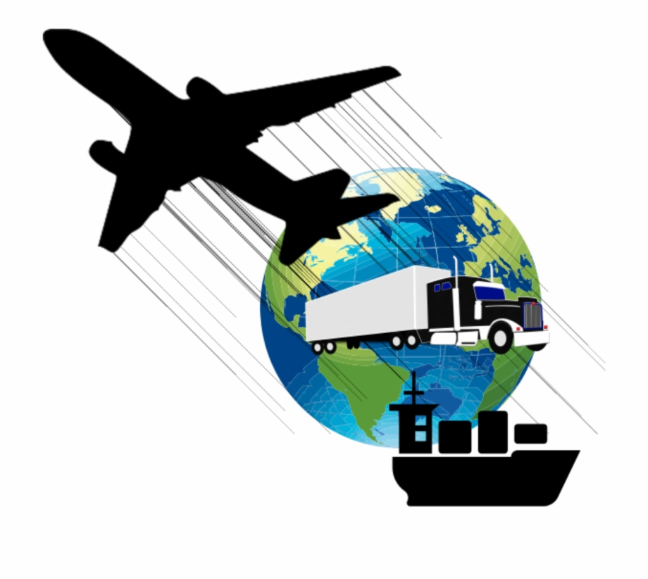Plane Clipart Transportation Logistics Png.