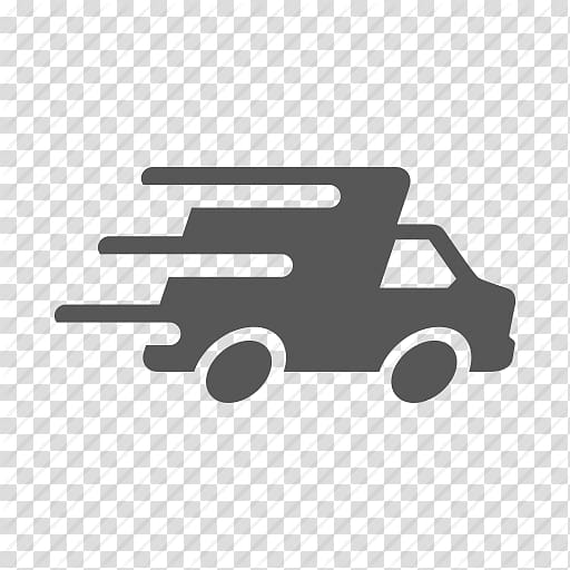Grey logistics logo, Delivery Courier Freight transport.