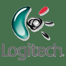 Logitech logo transparent image.
