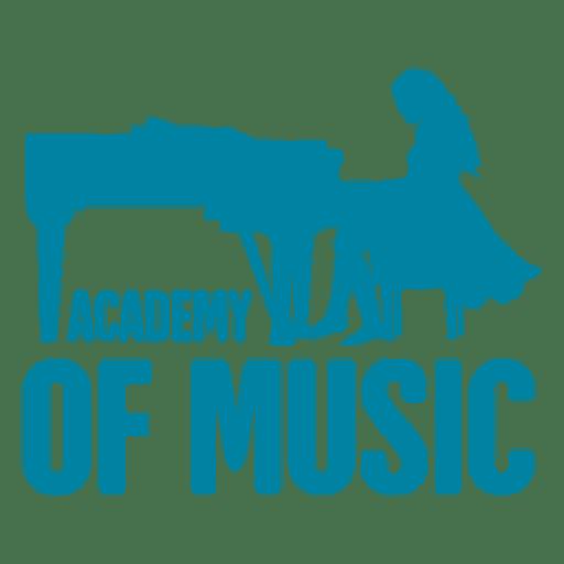 Music academy logo.