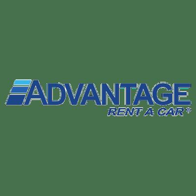 Advantage Rent A Car Logo transparent PNG.
