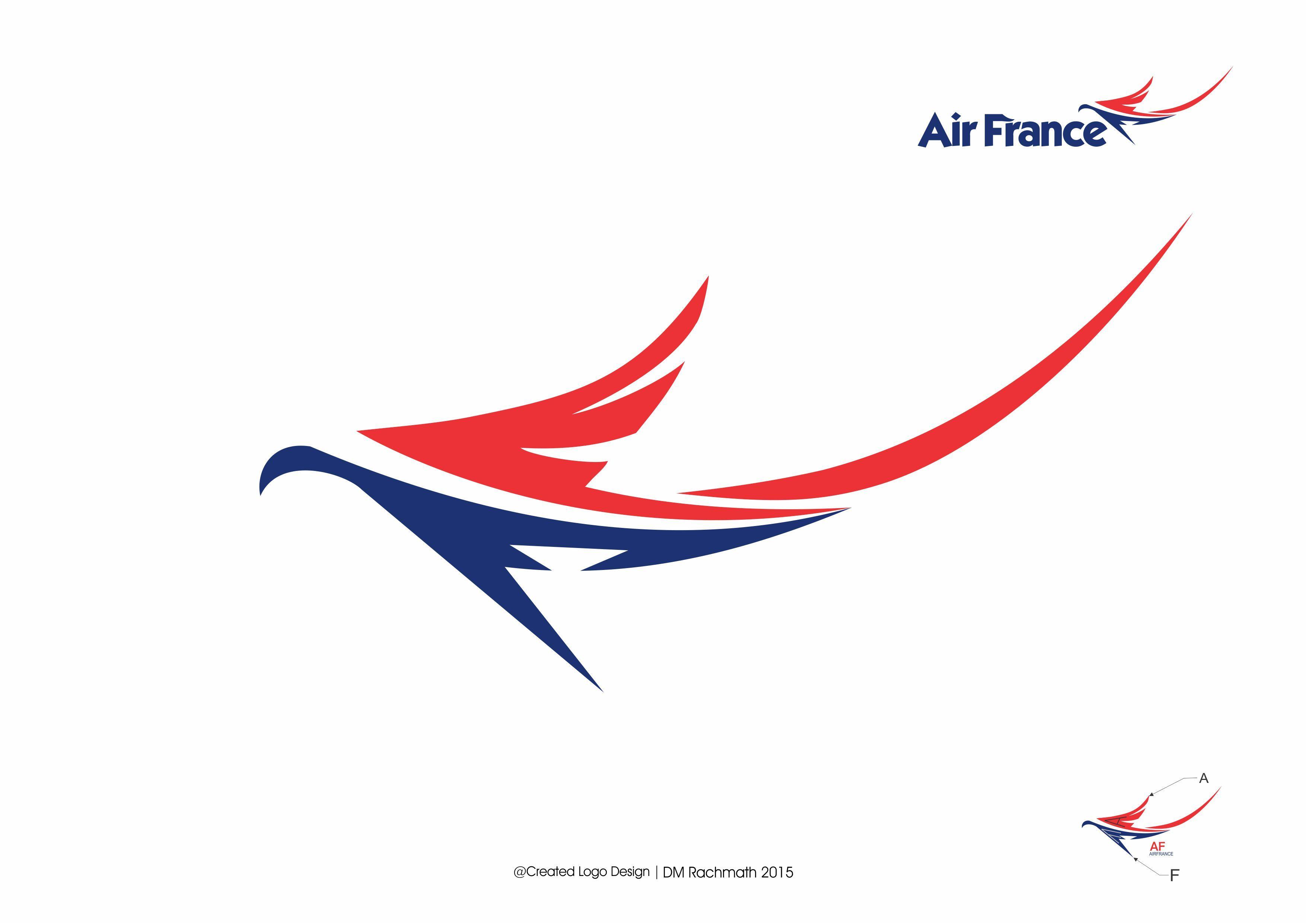 AirFrance logo Concept created By DM Rachmath.