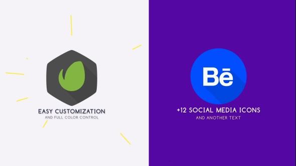Flat Logo Animation.