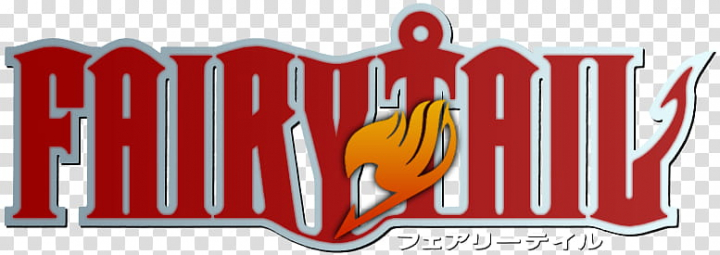 Fairy Tail Logo Red, Fairytail anime logo transparent.