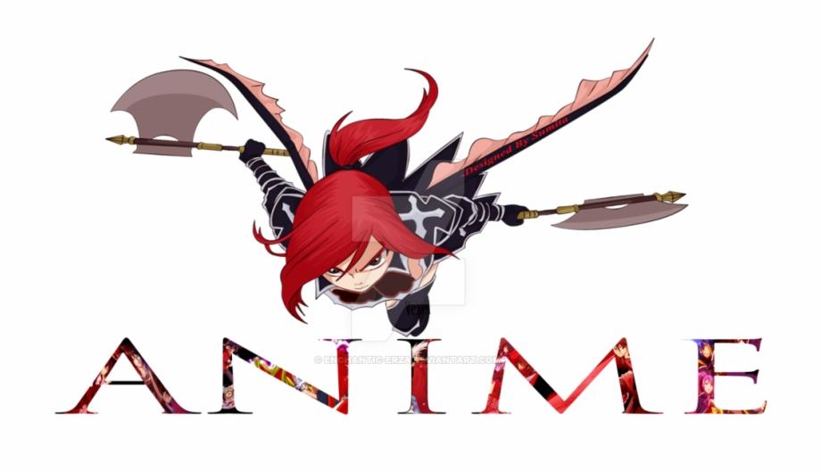Top Anime Logo By Effie Kris.