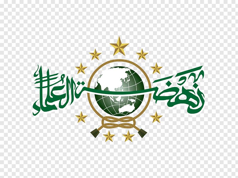 Green and white logo, Nahdlatul Ulama Logo Ansor Youth.