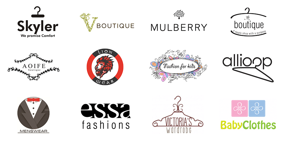 Recommendations for creating a clothes shop logo.