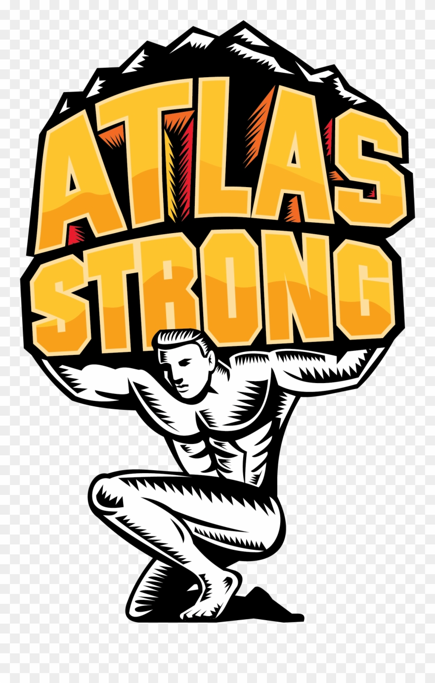 Atlas Titan Vector Clipart (#4452689).