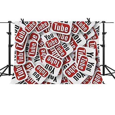Amazon.com : MME 10x7Ft Interview Backdrop Youtube Backdrop.